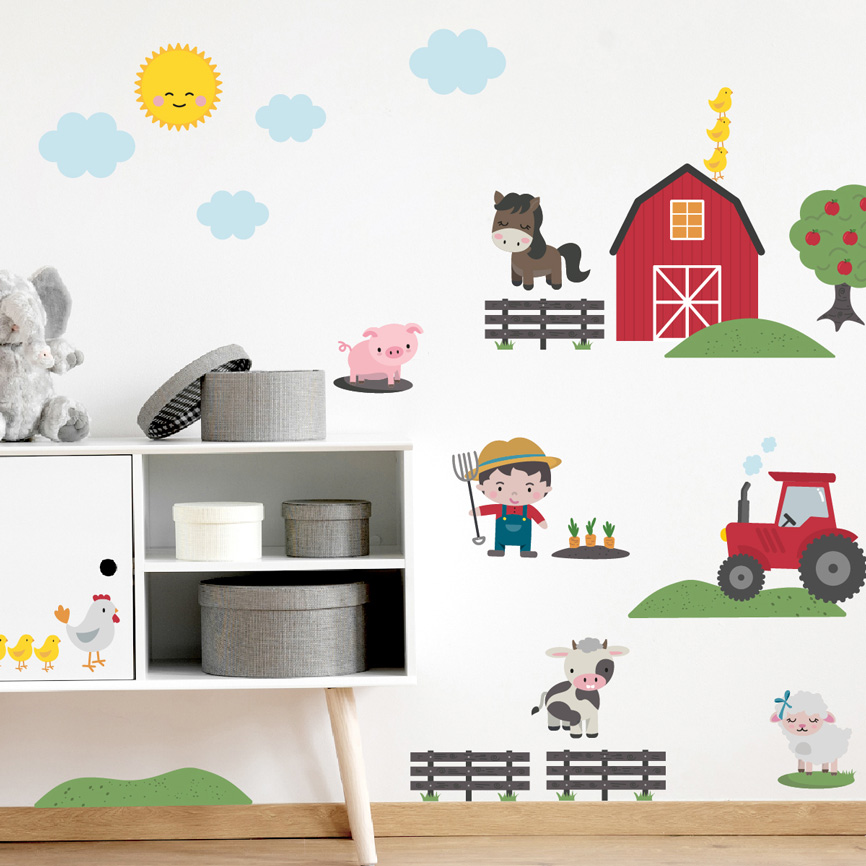 Wall sticker theme